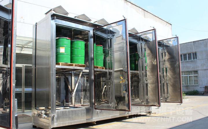 防爆蒸汽油桶水循环烘箱