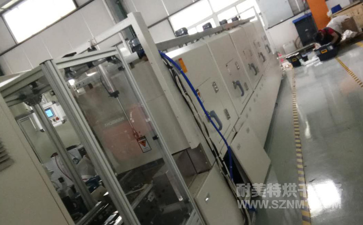 自动烘干线,电机定子预热线隧道炉